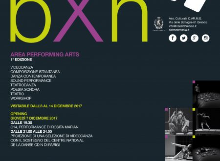 b x h area performing arts 1° edizione